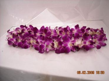 Double Orchid Lei (Other colors call)