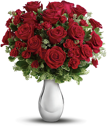 True Romance With Red Roses