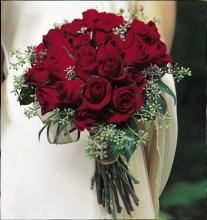 Red Rose Hand-Tied-Medium