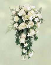 Rose and Stephanotis Cascade