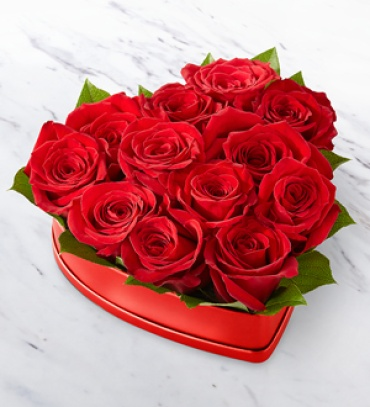 Lovely Red Rose Box (New)